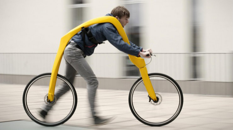 Is this a bike, a skateboard, a glider or just downright stupid?